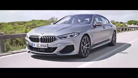 The all-new BMW 8 Series Gran Coupé.