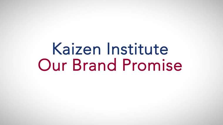 Kaizen Institute – Our Brand Promise