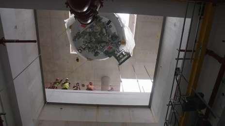 UCLH Cyclotron installation