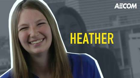 Meet Heather, one of our talented Water Consultants at AECOM