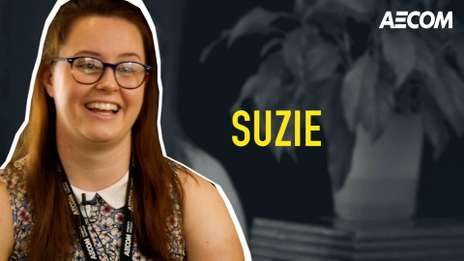 Meet Suzie, one of our talented Transport Planning Graduates at AECOM