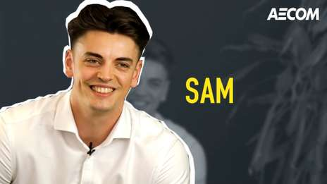 Meet Sam, one of our talented Project Management Graduates at AECOM