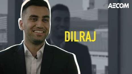 Meet Dilraj, one of our talented Quantity Surveying Graduates at AECOM
