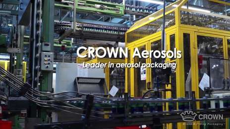 Every day, Crown helps global companies become leaders in their market segments with high-quality metal aerosol packaging.