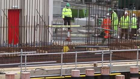 Dounreay new waste store construction