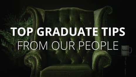 Diya gives her top graduate tips