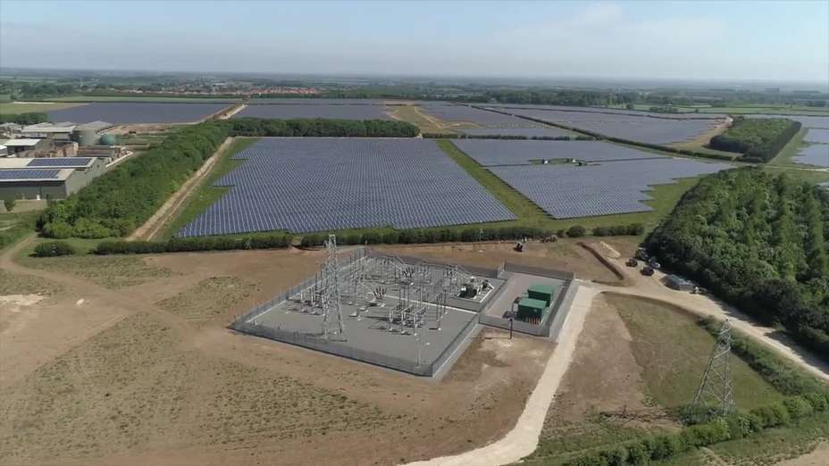Branston Solar Park: The Finished Product