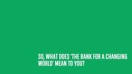 The Bank for your Changing World