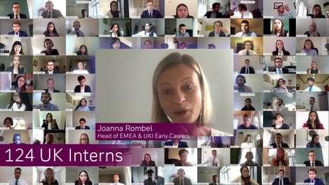 Launch of our Virtual Summer Internship Programme 2020