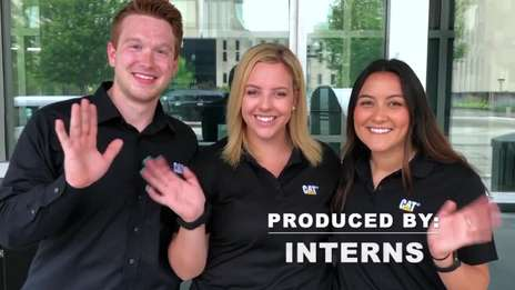 A Day in the Life of a Caterpillar Intern