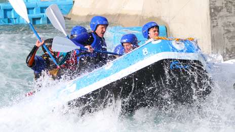 Gradcracker rides the rapids with Cundall
