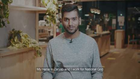 Zaryab Suddle: I work for National Grid