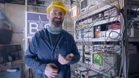 BASE Antimatter Experiment opens up new possibilities in the search for cold dark matter