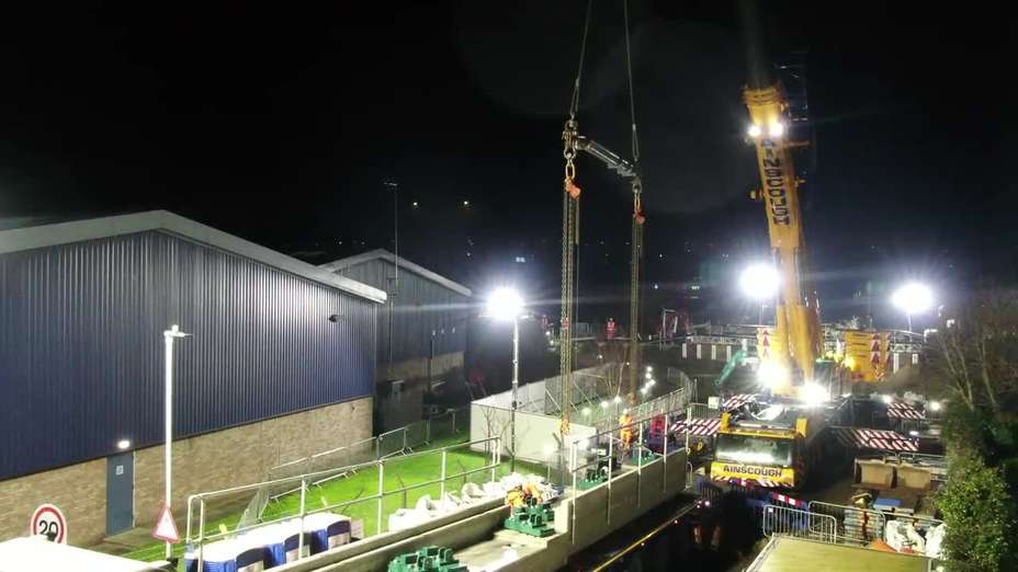 Cow Lane Bridge Replacement for Network Rail