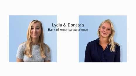 Lydia and Donata | Junior Talent Experience
