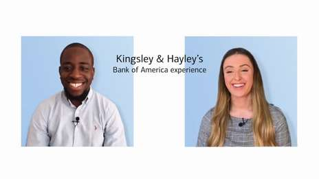 Kingsley and Hayley | Junior Talent Experience