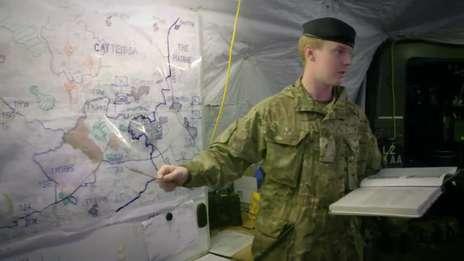 Royal Signals Officer