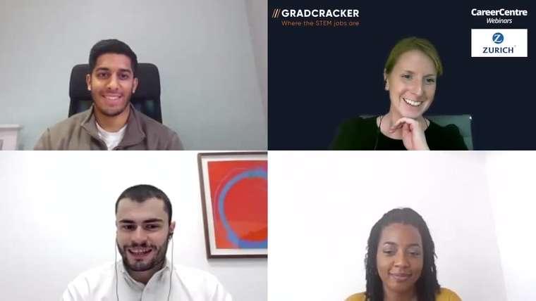 Gradcracker Insights - Carla meets three graduates at Zurich