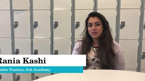 Rania Kashi - Maths Trainee