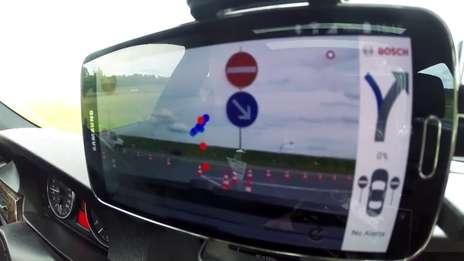 #Boxberg15  Wrong way driver warning