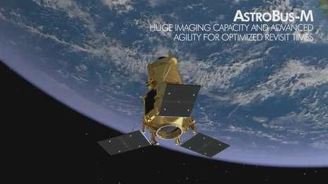 Earth Observation satellite portfolio.