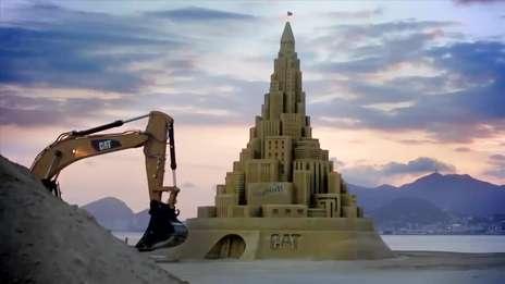 Sand Castle   Cat® #BuiltForIt Trials