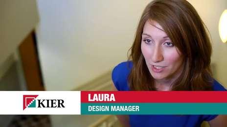 Kier Graduate Profiles - Laura, design manager