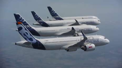 A family that flies together: Airbus Aircraft