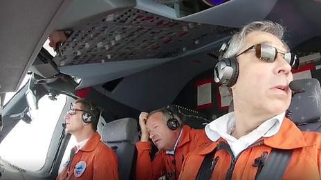 Airbus's historic family flight
