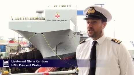 Lt Glenn Kerrigan - HMS Prince of Wales