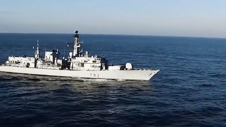Deploying destroyers, drug busts and award celebrations