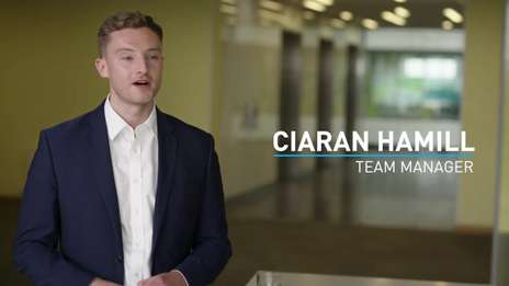 Ciaran Hamill - Team Manager