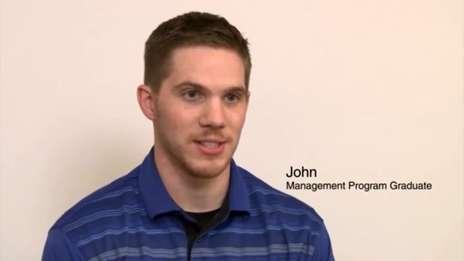 John - Management Programme Graduate