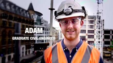 Kier Graduate Profiles - Adam, Graduate Site Engineer