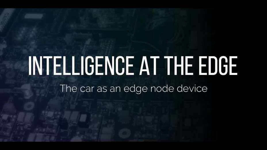 Intelligence at the Edge - V2X2I